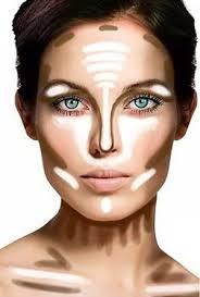 maquiagem para noivas contorno e luz pele