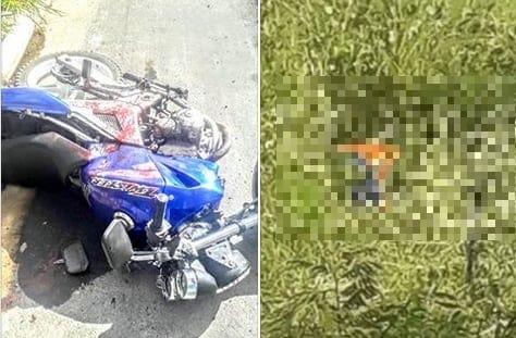 Motociclista e garupa  são mortos a tiros na AL- 130, entre o trevo de Olho d'Água das Flores e Pão de Açúcar