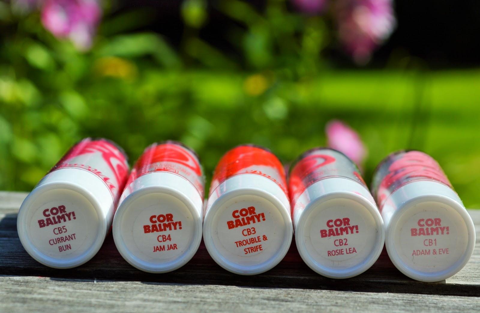 Barry M Cor Balmy Tinted Lip Balms