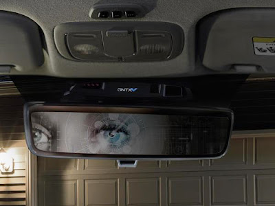 Photo of Gentex Biometric Rear View Mirror