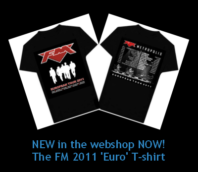 FM - European Tour 2011 T-Shirt