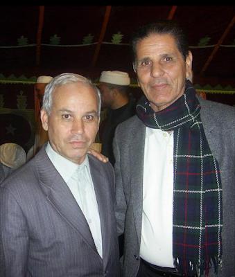 الملحن عبد القادر وهبي وكاتب الكلمات عمر التوزاني