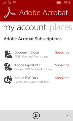 Adobe Acrobat Subscriptions