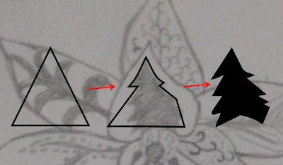 menggambar ornamen isian batik dengan polygon tool