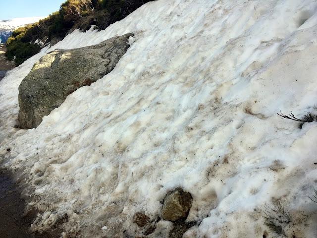nieve sierra de Madrid