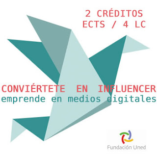 Off Topic: Conviértete en influencer: emprende en medios digitales. Fundación UNED