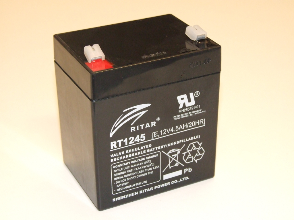 Valve regulated lead acid battery or maintenance free battery