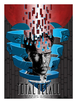 Total Recall Movie Poster Screen Print by Tim Doyle x Spoke Art