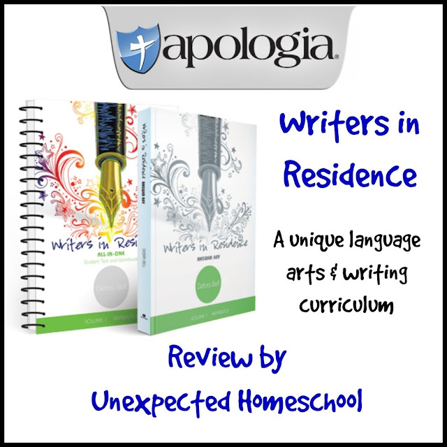 Writers in Residence from Apologia Educational Ministries.
