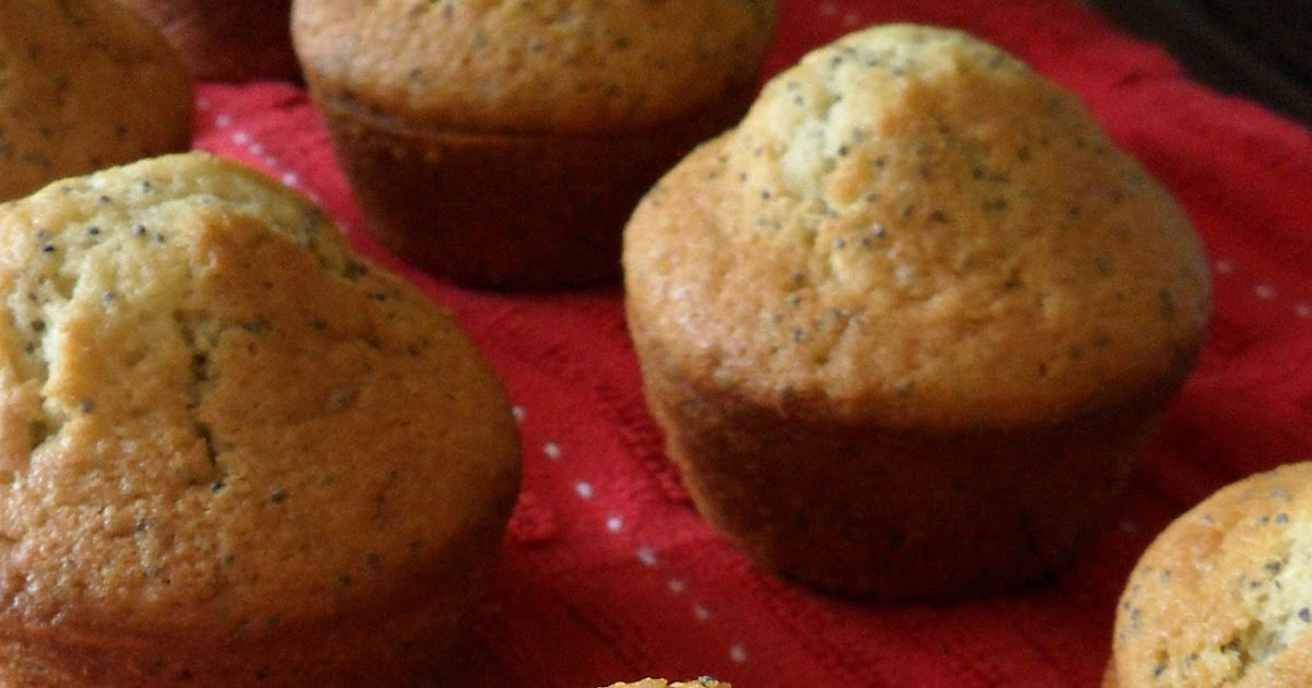 Lemon Poppy Seed Cake From Muffin Mix