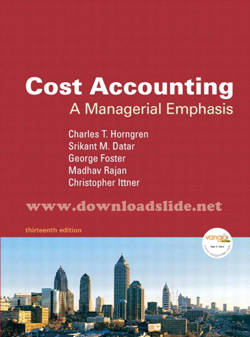 Solution manual cost accounting 13th edition by horngren datar solution manual cost accounting 13th edition by horngren datar foster rajan fandeluxe Gallery