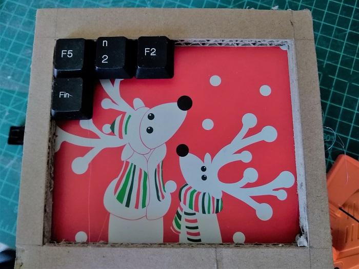 déco avec touches de clavier