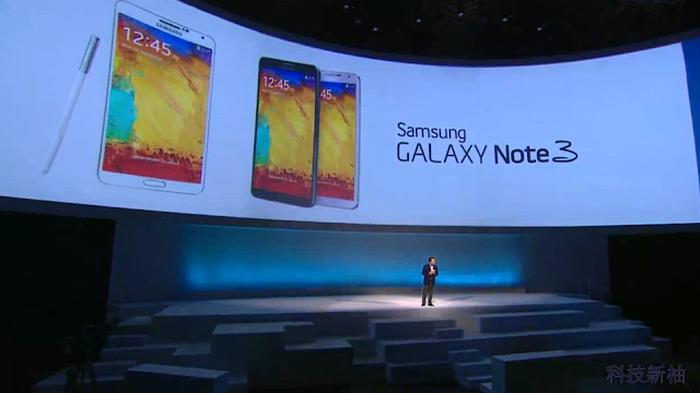 詳盡報導 SAMSUNG Galaxy Note 3、Note 10.1、 Galaxy Gear 發表會內容 Galaxy+Note+3+-01