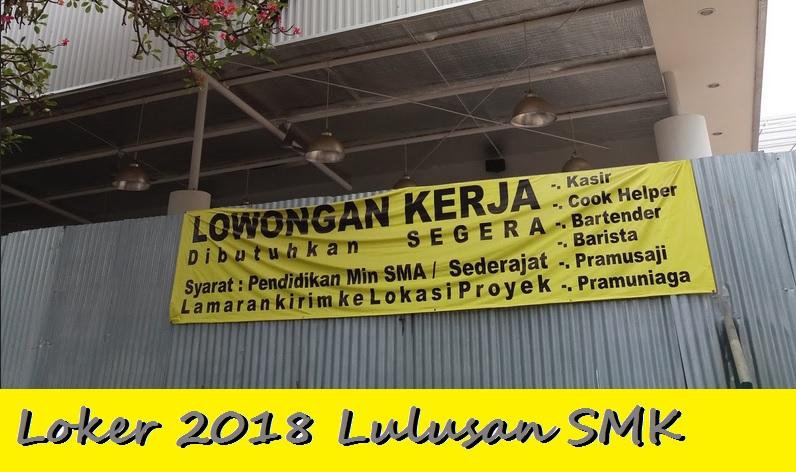 loker 2018 tangerang lulusan smk
