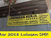 Loker 2020/2021 Tangerang Lulusan SMK