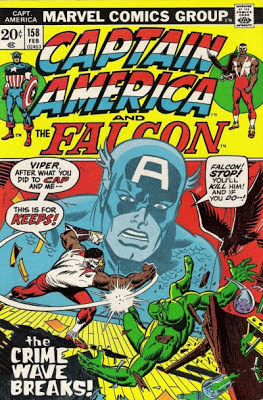 Captain America and the Falcon #158