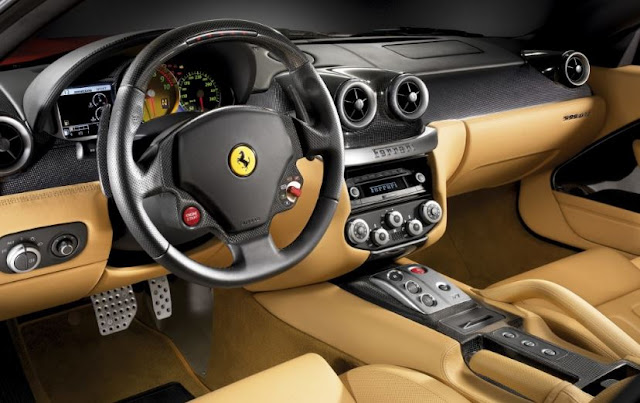 2018 Ferrari Dino Interior