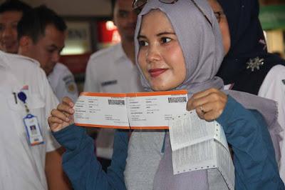 Boarding Pass Stasiun Bandung