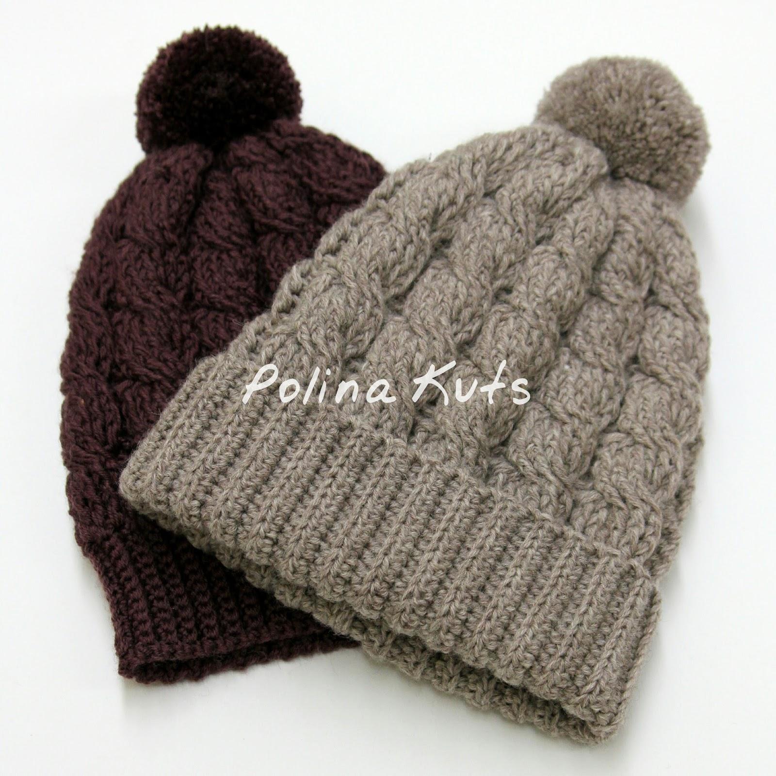 Polina Kuts косы крючком шапка крючком косы виды резинки крючком