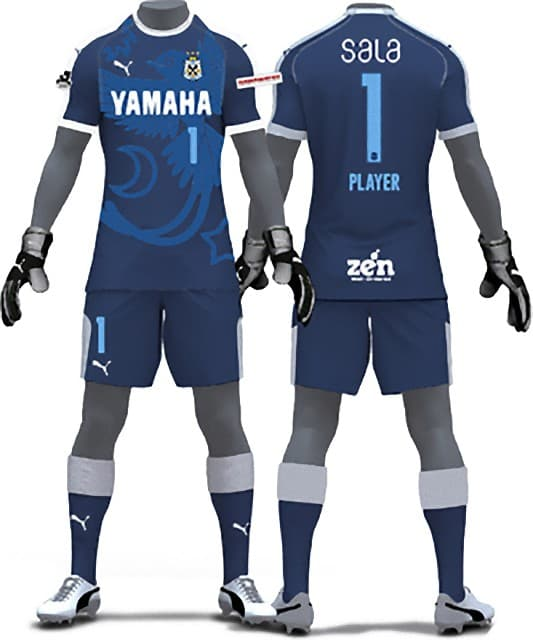ジュビロ磐田 2018 ユニフォーム-GK