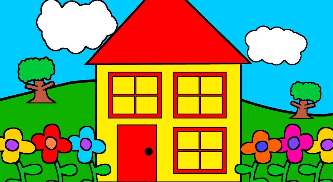 76+ Gambar Animasi Rumah Lucu