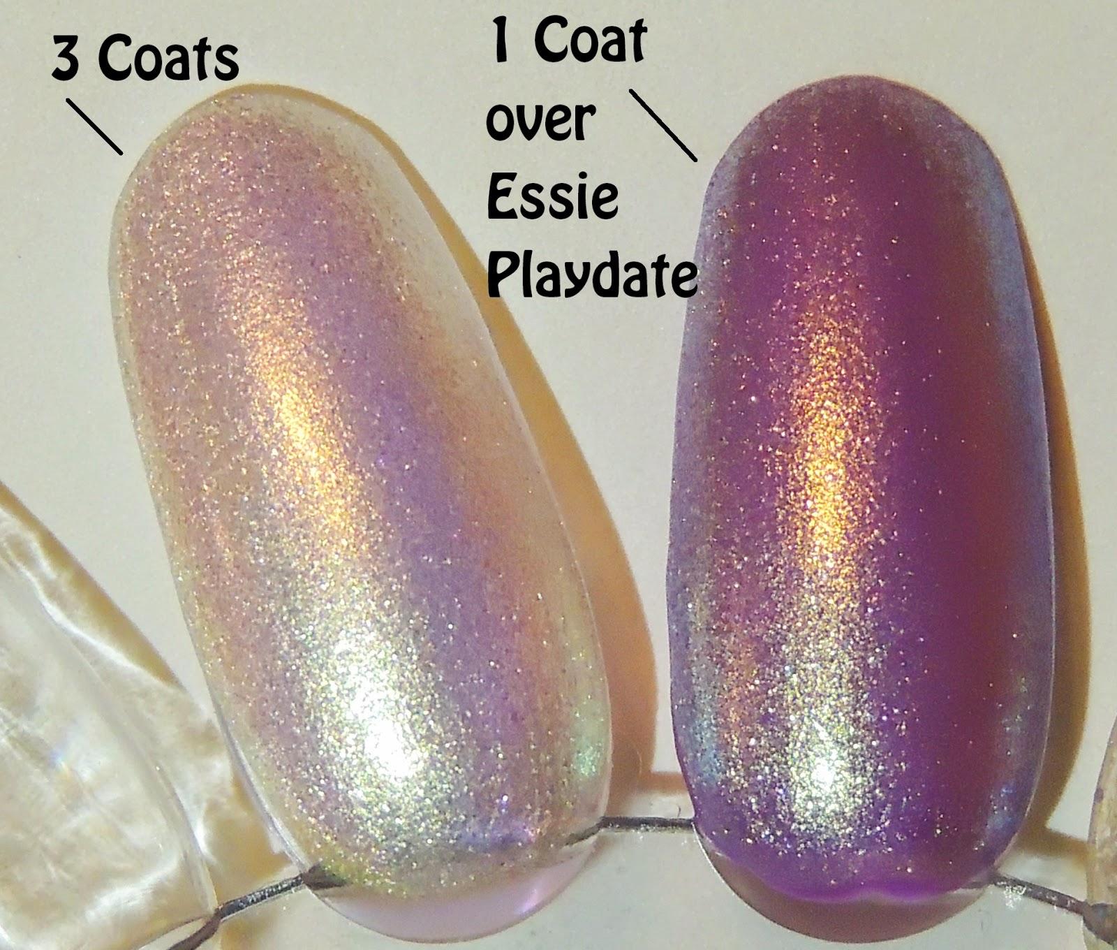 Glitter Lambs: I Found An Oyster Pearl Nail Polish