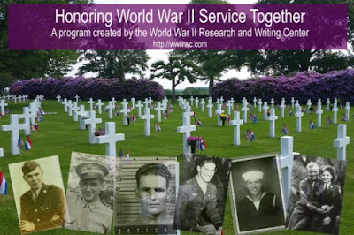 New Program Announced: Honoring World War II Service Together