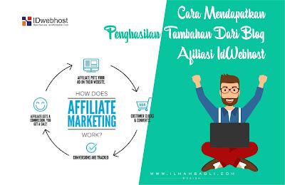 Dapatkan Penghasilan Tambahan Dari Blog Dengan Bisnis Afiliasi Idwebhost