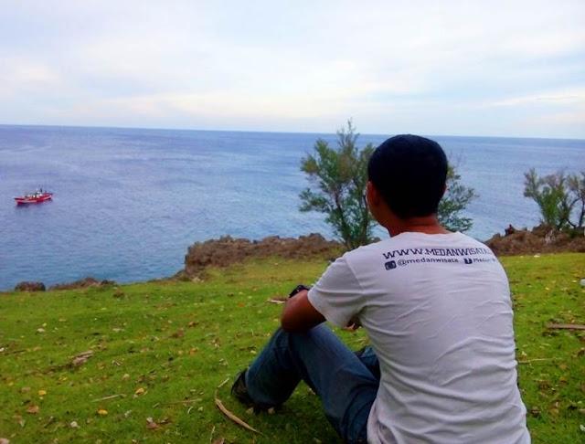 Pemandangan Laut dari Benteng Jepang