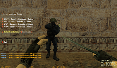 Plugin - Menu de Armas [V] (Bind para Steam e No-Steam), menu de armas, bind v, steam