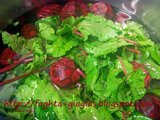 Παντζάρια σαλάτα με σάλτσα μαγιονέζας και γιαουρτιού - από «Τα φαγητά της γιαγιάς»