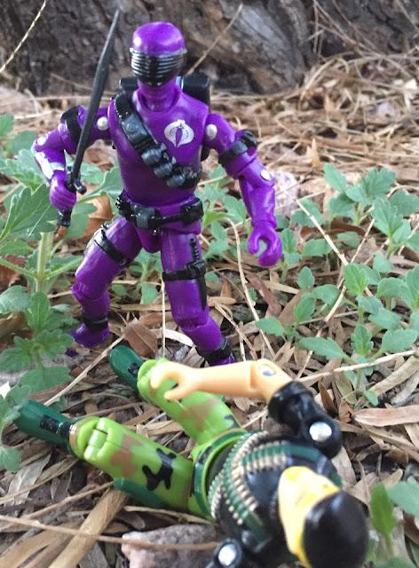 2018 Black Major Purple Haze Cobra Invasor, Snake Eyes V2, 1985, Bootleg, Factory Custom, Red Laser Army, Hollowpoint