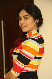 Adha Sharma in a Cute Colorful Jumpsuit Styled By Manasi Aggarwal Promoting movie Commando 2 (113).JPG