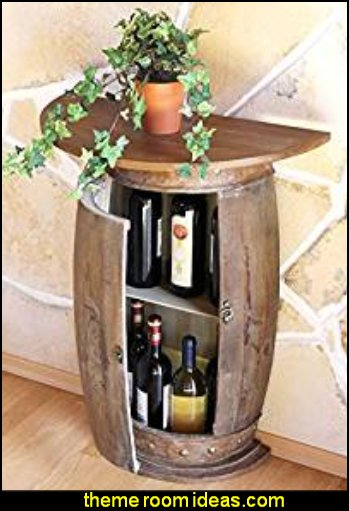 Sideboard Table Wine barrel