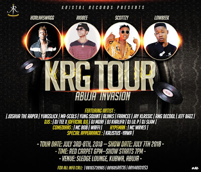 Update: KRG TOUR 2018 (Abuja Invasion)
