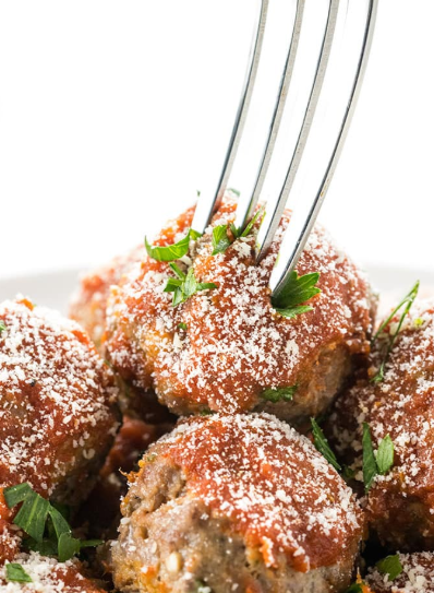 Easy Keto Low Carb Meatballs Recipe