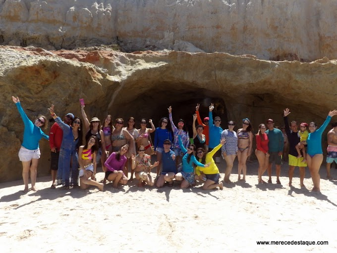 Turma de Santa Cruz do Capibaribe curte o carnaval no Ceará