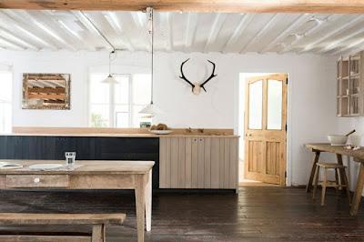 Desain Interior Dapur Kayu
