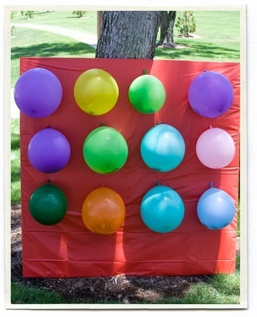 Balloon theme party games for a child's birthday.