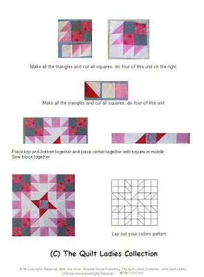 B Annie Quilt Pattern Book