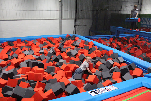 foam pit rush uk