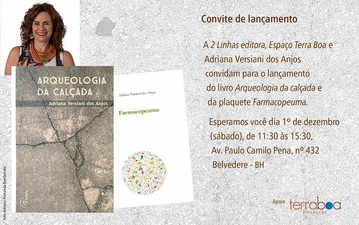 Adriana Versiani dos Anjos lança Arqueologia da calçada ~ Revista ... b19ee45306