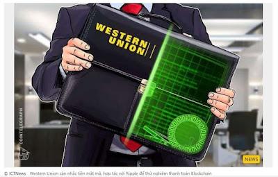 Western Union cân nhắc thử nghiệm thanh toán Blockchain - Tin công nghệ