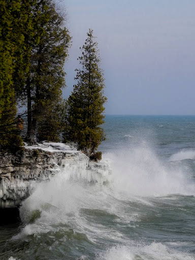 Cave Point County Park - Door County WI