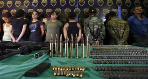 Mexican teenage girls train as drug cartel killers   ending male