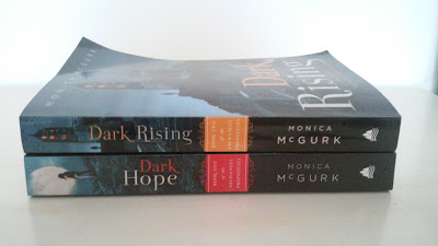 The Archangel Prophecies series by Monica McGurk