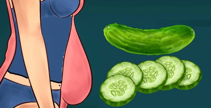 """Lose Pounds Quickly With The 7 Day """"Cucumber Diet""""!"""