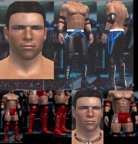 AJ Styles CAW for WWE SmackDown vs RAW 2011 Xbox 360