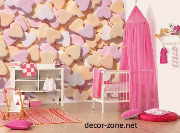 kids room wall decor ideas for girls