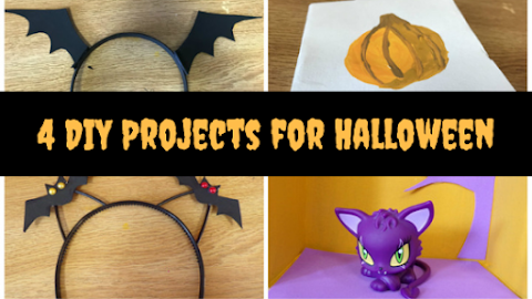 4 Halloween DIY Crafts You MUST TRY! Super Easy and Fun!